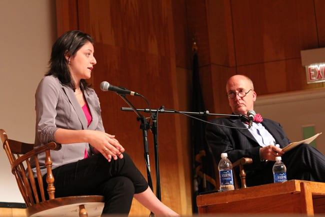 Sara Ganim at Stony Brook University