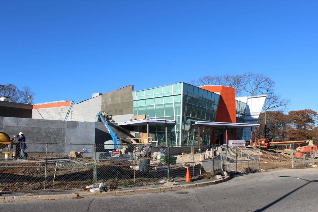 The renovation of Kelly Dining Center began last year and has no completion date.