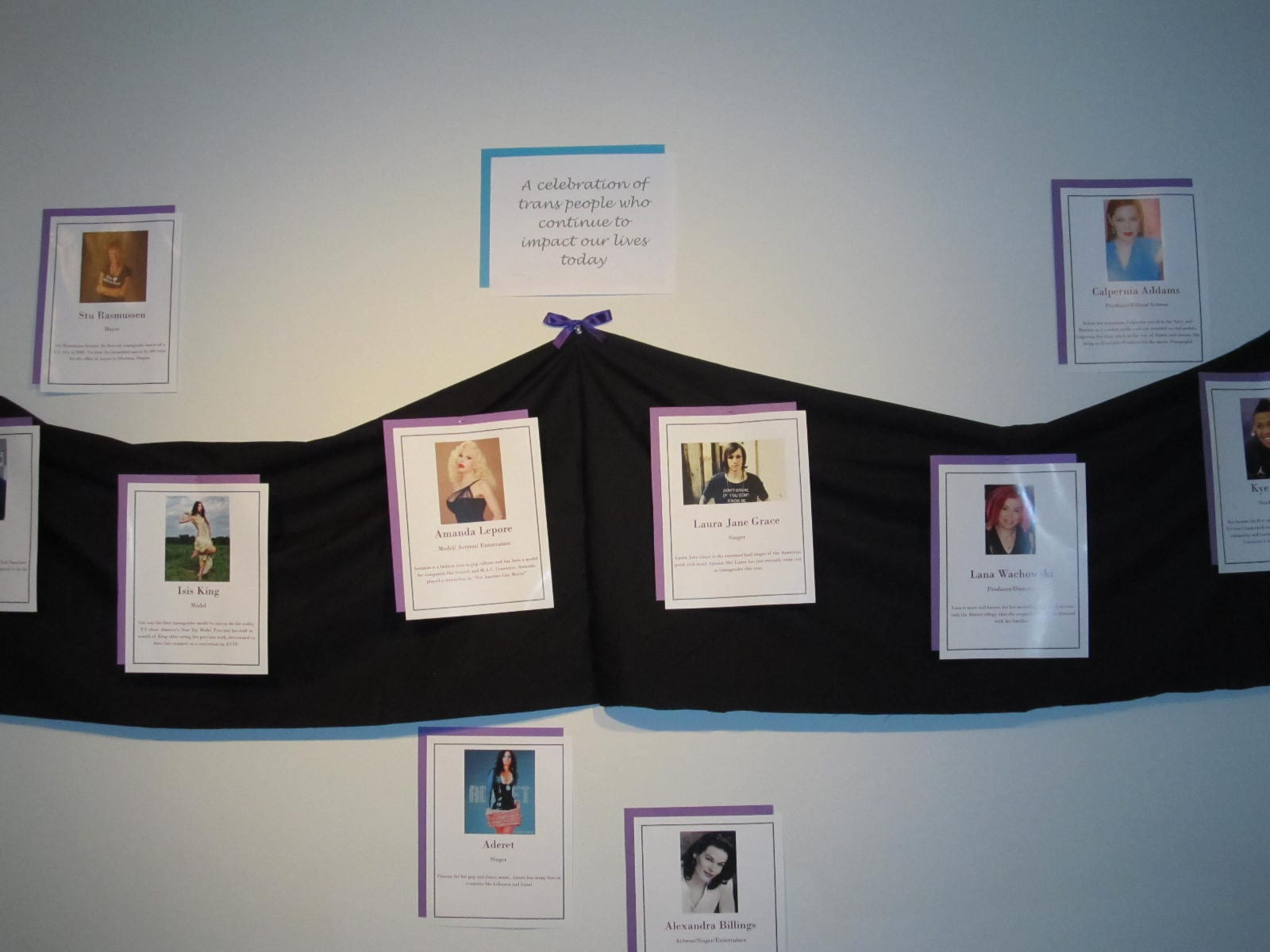 SBU's CPO and LGBTA held a memorial in honor of transgenders on Thursday, Nov. 29.