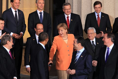 German Chancellor, Angela Merkel, has been a leader of the debates to solve the European Debt Crisis. ( PHOTO CREDIT/ MCT CAMPUS)