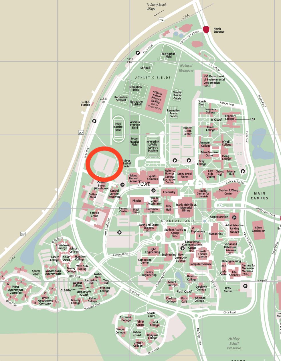 Stony Brook Campus Map gym road map pc stony brook university – The Statesman